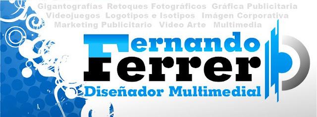Fernando Ferrer - Diseñador Multimedial