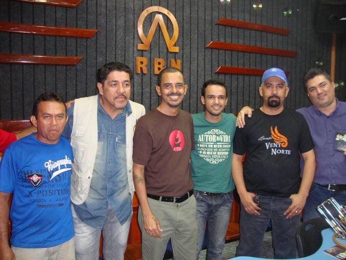LEO FONSECA participa do programa Vento Norte na RBN, 104,9 FM Rádio Boas Novas em Macapá (AP)