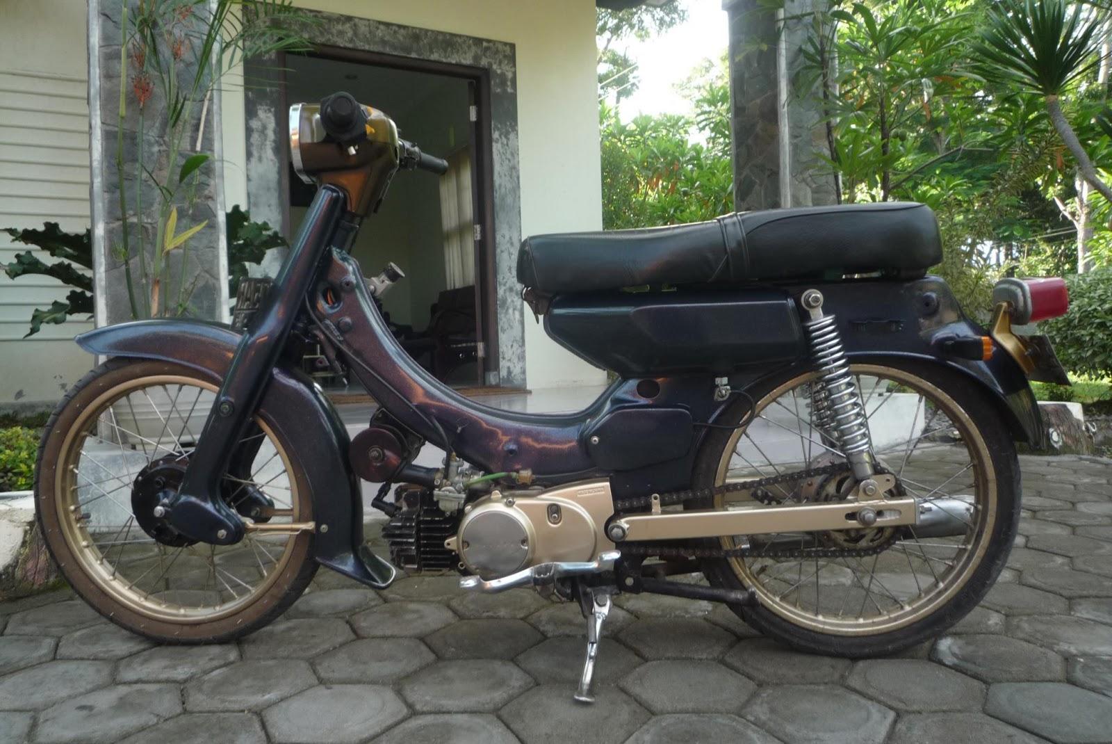 ide modifikasi motor yamaha 75