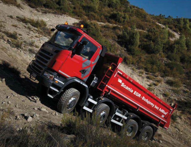 Scania Gama Off Road  Los Mas Robustos Para Todo Terreno