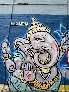 ganesha by phibs... this is at least the third version he's put up in the exact same spot