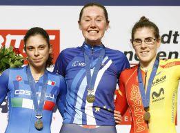 CICLISMO EN PISTA - Campeonato de Europa femenino 2015 (Suiza)