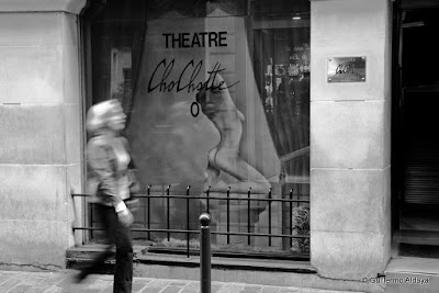 Théâtre Chochotte (Paris, France), by Guillermo Aldaya / AldayaPhoto