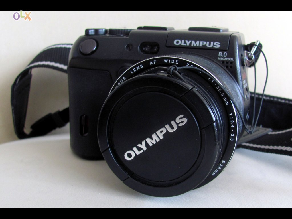 Olympus-C8080WZ Wide Zoom Camara Camera Digital