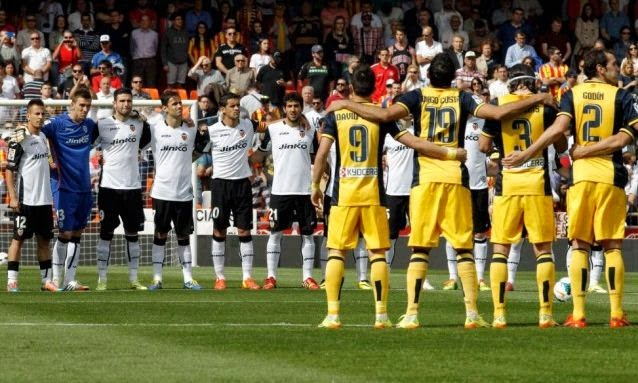Valencia vs Atletico Madrid 0-1 La Liga Spain