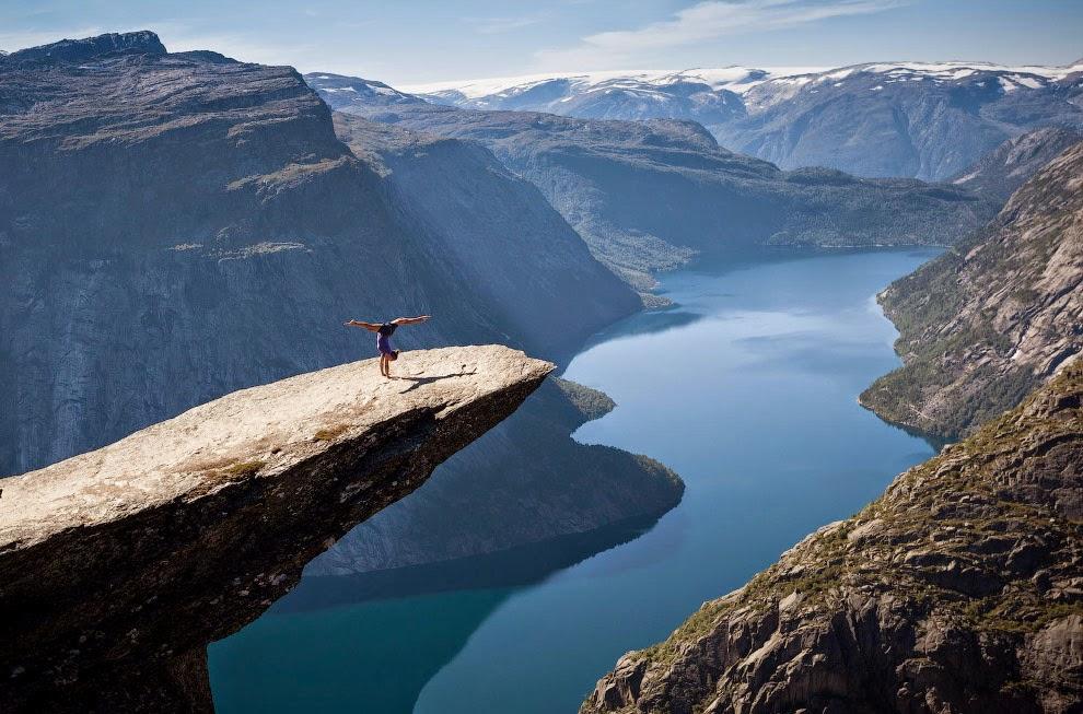 Красивые фото человек на фоне природы