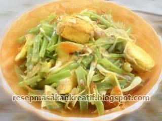 Resep Masakan Oseng Tahu Bawang Lokio