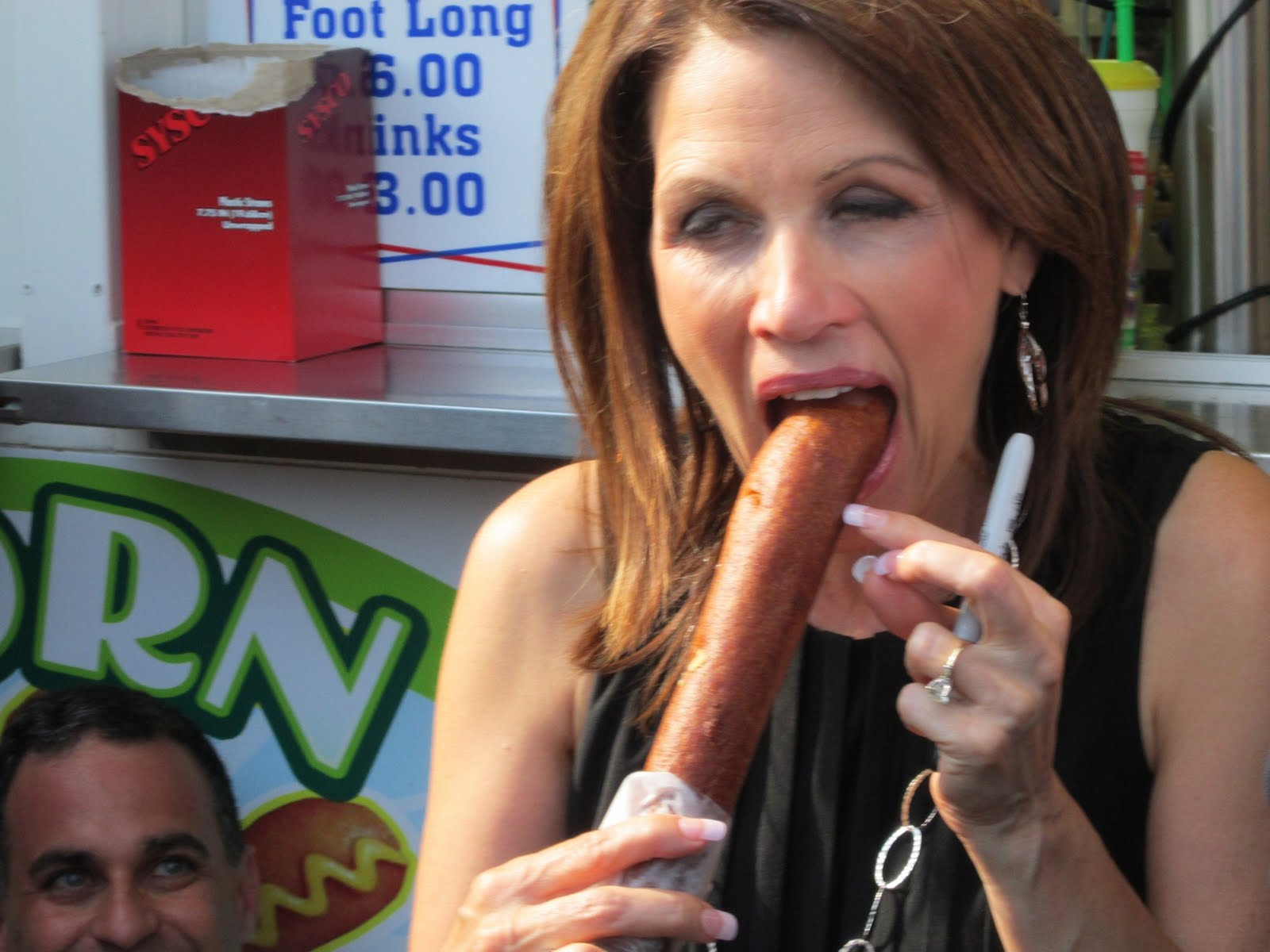 Michele Bachmann Hot Dog