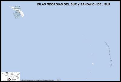 ISLAS GEORGIAS DEL SUR Y SANDWICH DEL SUR , Antartida, BING