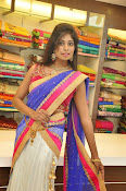 Mounika Reddy Glam pics in Half saree-thumbnail-15