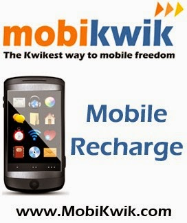 Rs 100 Mobile Recharge & Bill Payment at Rs 50 on Mobikwik Windows App