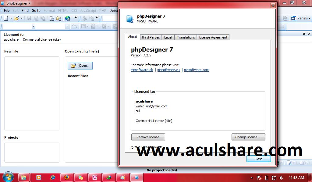 Phpdesigner 7 2 5 with keygen free download software for Free download t shirt design software full version