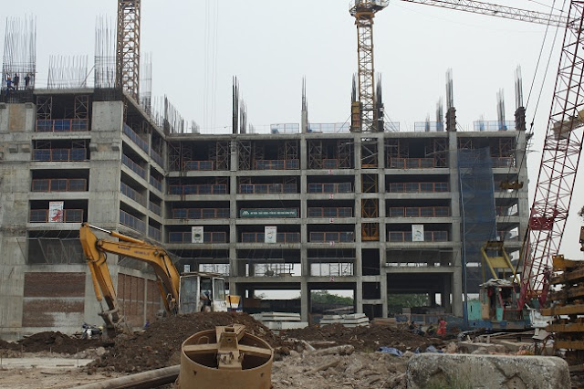 Tiến độ xây dựng tòa CT4 chung cư Eco Green City