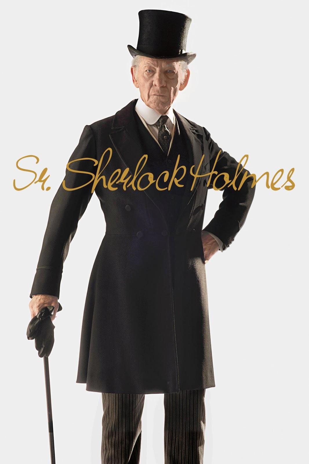 Sr. Sherlock Holmes – Dublado (2015)
