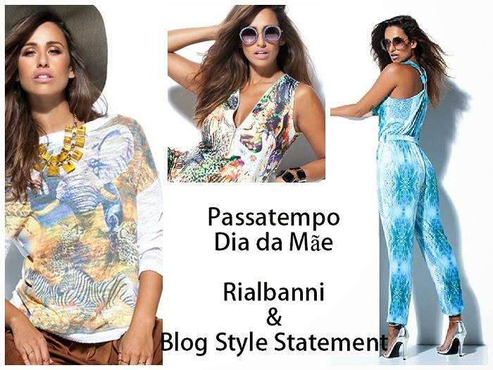 Olá, meninas! O Dia da Mãe está próximo!! E para celebrar esta data, decidi fazer um Passatempo em parceria com a marca portuguesa Rialbanni, no qual poderão ganhar uma das peças da Nova Colecção Primavera/Verão 2015. Style Statement. Blog de moda portugal, blogues de moda portugueses. Rita Pereira
