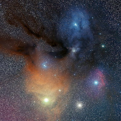 The Rho Ophiuchi Star Formation Region revisited by ESO