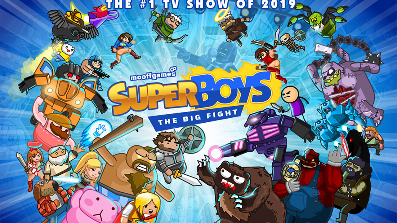 Super Boys - The Big Fight Gameplay IOS / Android