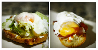 Imagen: Huevos Benedictine de brunch americano