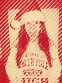 Author Candace Jane Kringle (aka Candycane Claus) merrily announces she is hosting a Christmas Twitter party. #SantaChat