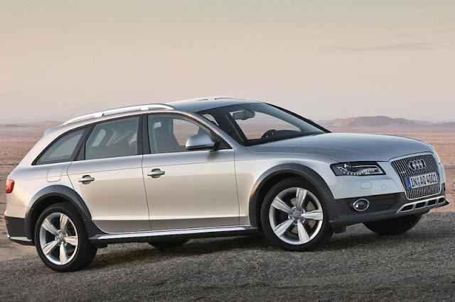 2013 Audi A4 Allroad Quattro Silver Wallpaper