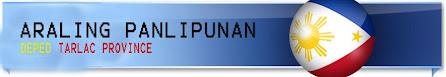 DepEd Tarlac Province Araling Panlipunan