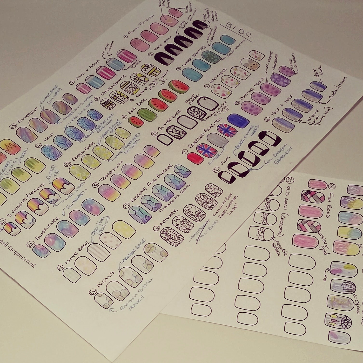 nail-blogger-nail-art-templates