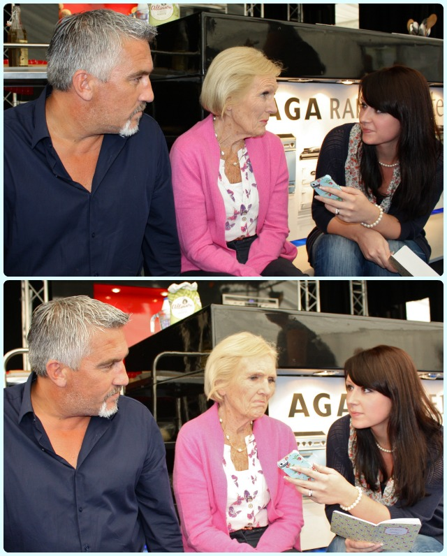 Interviewing Paul Hollywood and Mary Berry
