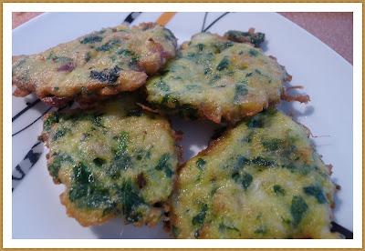 Tortillitas de acelgas cocinar en casa es for Como cocinar acelgas frescas