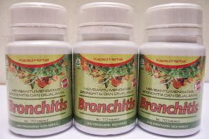 Obat Bronchitis Alami & Herbal