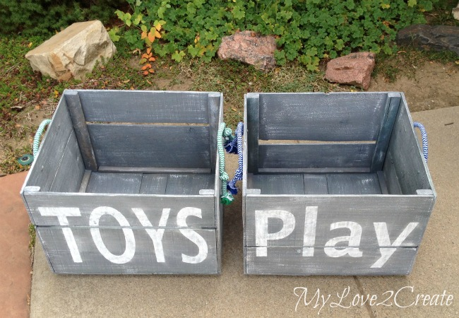 MyLove2Create, Large DIY Storage Crates