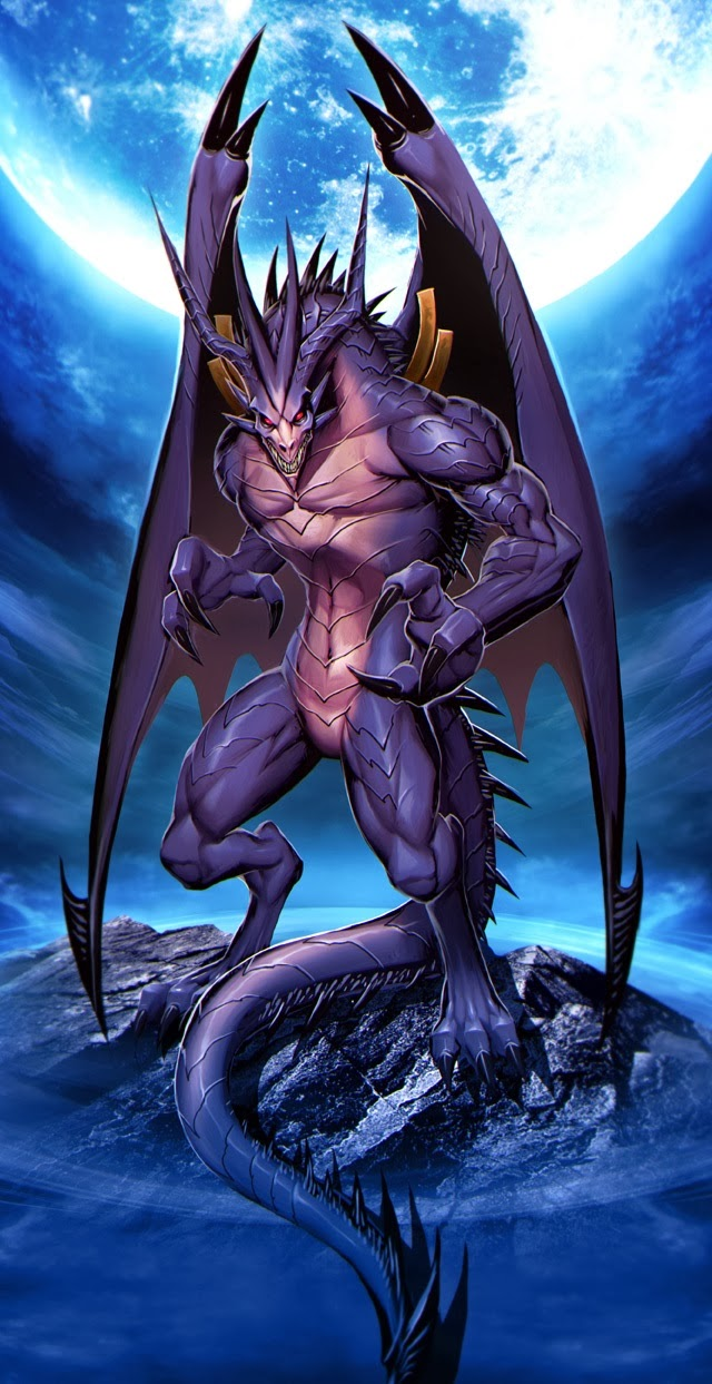 Bahamut,anime dragon,cool dragon