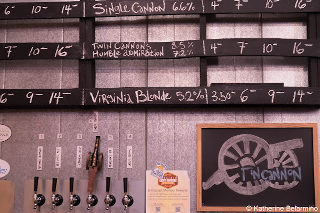 Tin Cannon Brewing Beer Taps Northern Virginia