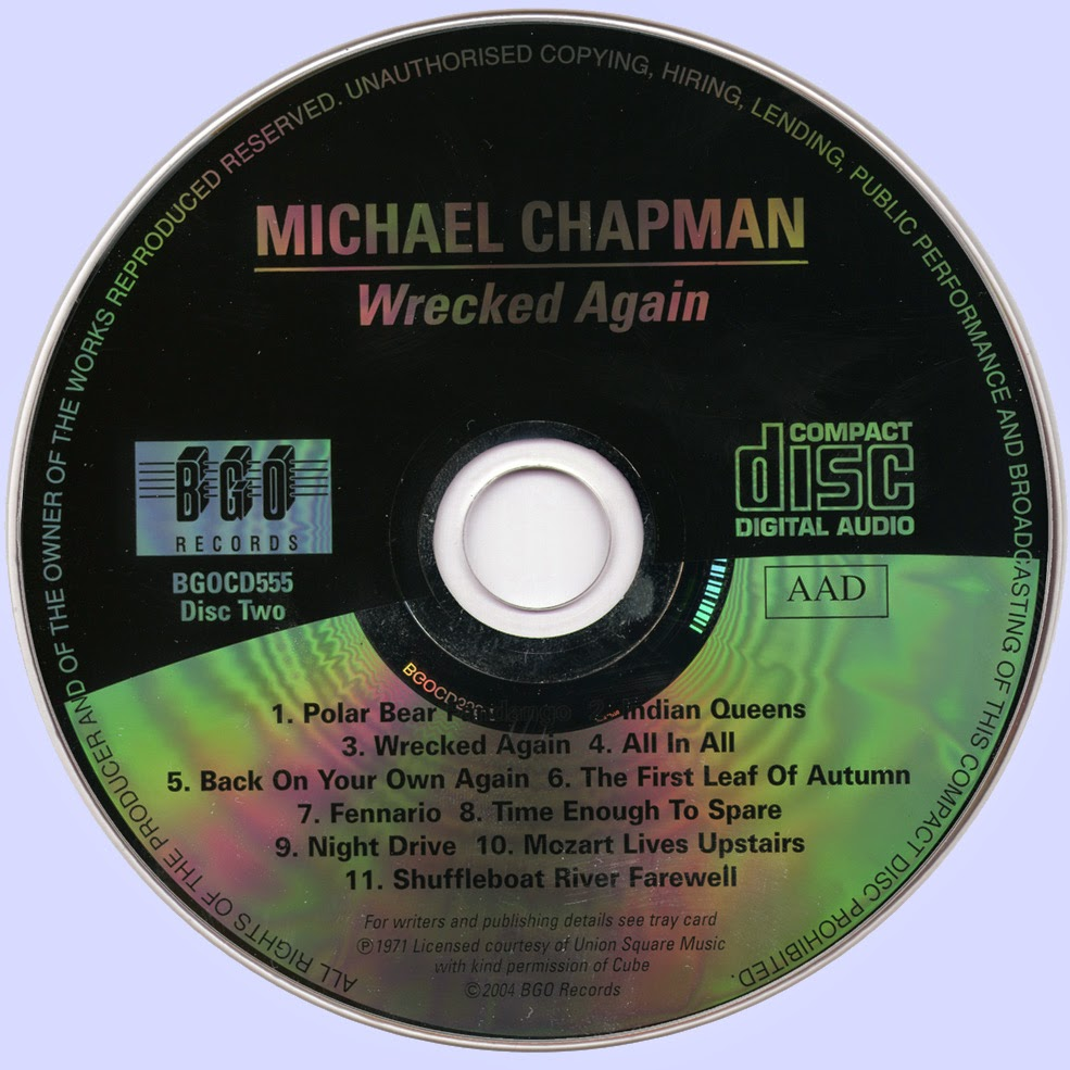 Michael Chapman Wrecked Again