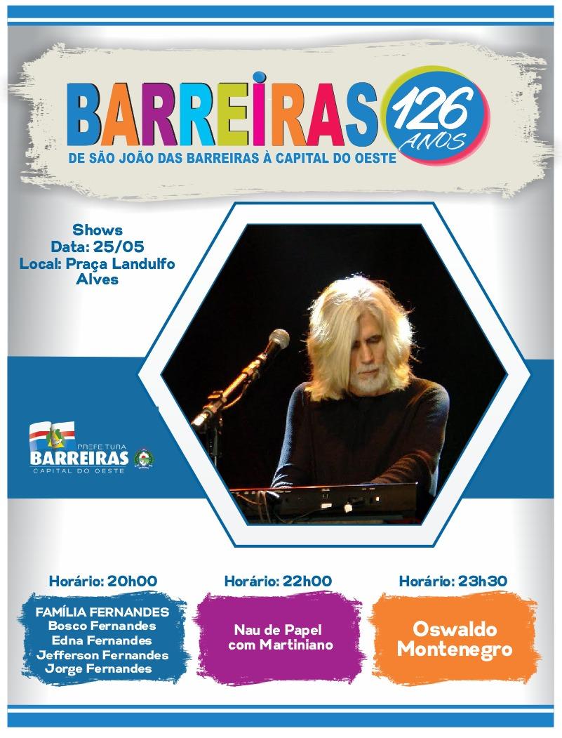 BARREIRAS 126 ANOS.
