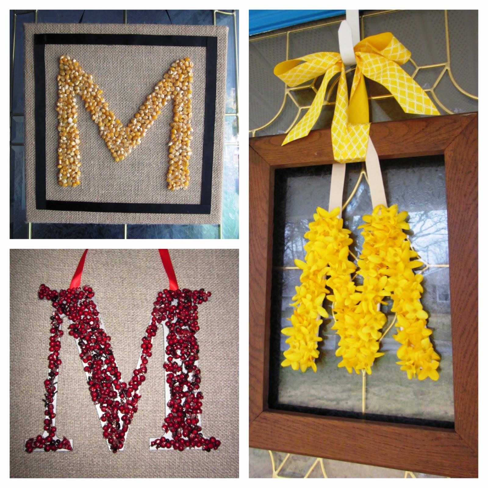 "Cape Cod Spring: Cape Cod Creativity : Spring Monogram ""Wreath"""