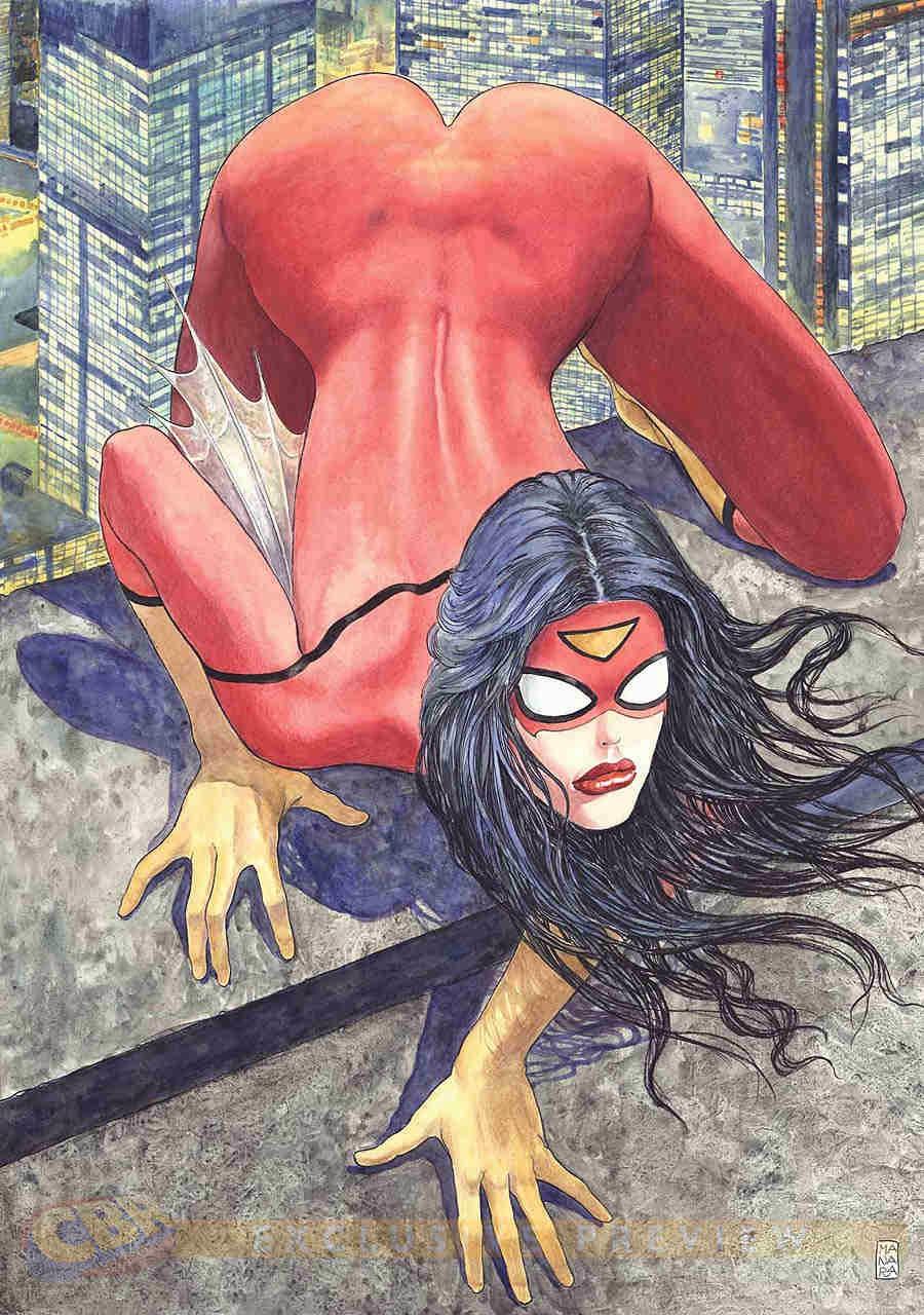 Spider-Woman por Milo Manara