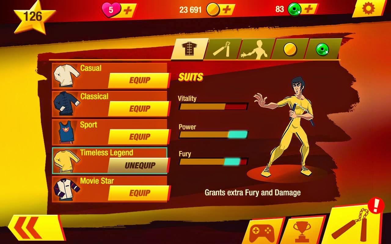 Bruce Lee : Enter The Game v 1.0.9. 5877 Apk + Mod + Data