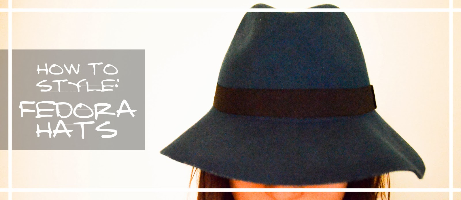 hat blue floppy styling inspiration outfit looks