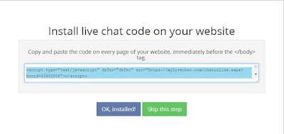 Hướng dẫn tạo Box Chat cho Blogspot