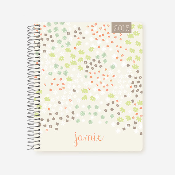 Plum Papper Designs custom daily planner