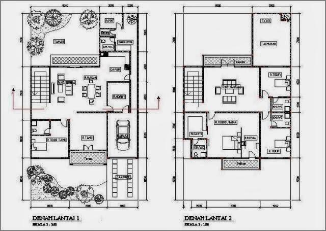 rumah minimalis 2 lantai type 90