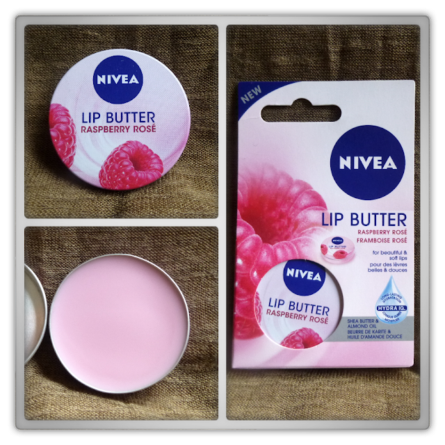 Nivea lip butter raspberry rosé