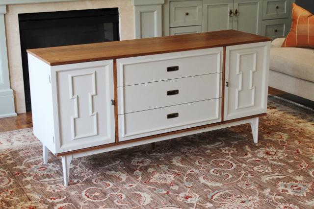 Vintage Bassett Furniture Sideboard   Refined Vintage Market