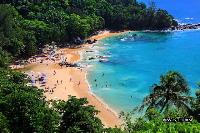 Laem Singh Beach in Phuket