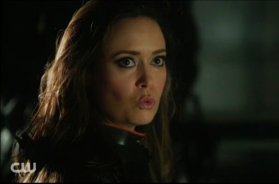 Isabel death scene Arrow Summer Glau photos images pics screencaps