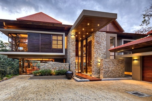 Contemporary Craftsman Home
