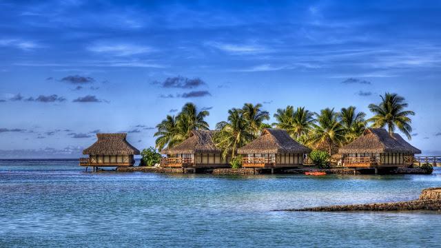 Maldives Island Hotel HDR