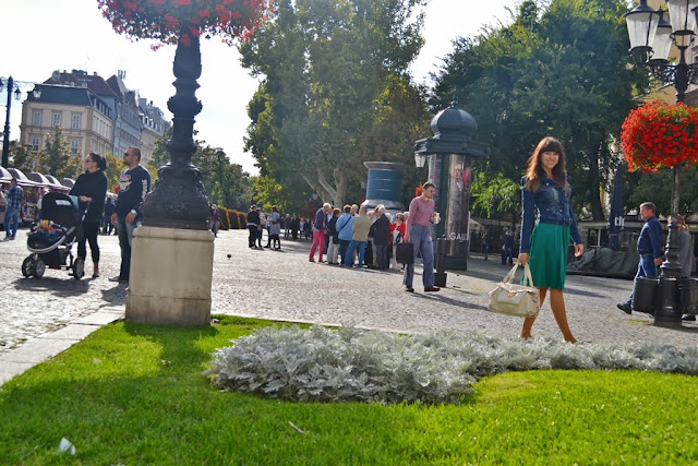 Zelený kabátik Katharine-fashion is beautiful