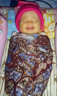 Ekspresi Bayi dikala Tidur