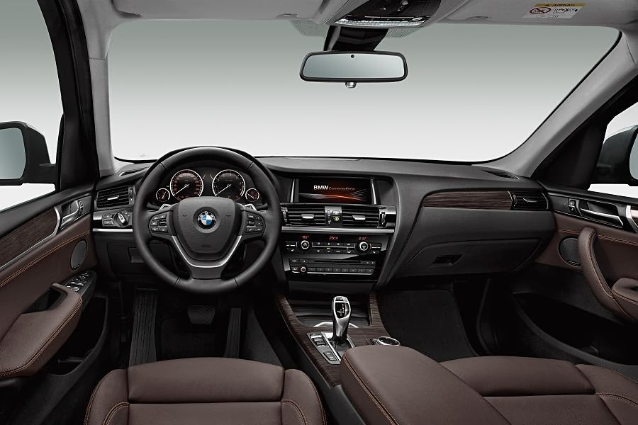 BMW X3 xDrive20d xLine (2014) Dashboard